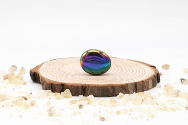 Aqua aura arco iris rodado