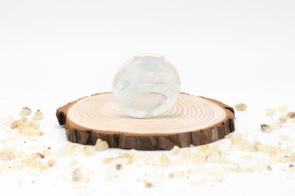 Aqua aura hielo meditación plana